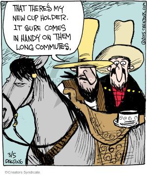Comic Strip John Deering  Strange Brew 2015-03-05 amenity