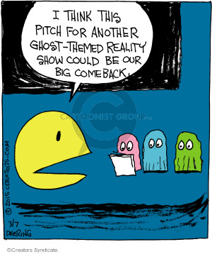 Comic Strip John Deering  Strange Brew 2015-03-07 TV series