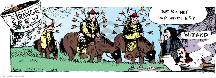 Comic Strip John Deering  Strange Brew 2015-03-15 care