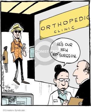 Comic Strip John Deering  Strange Brew 2015-03-16 surgeon