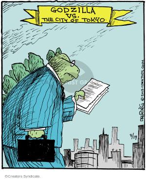 Cartoonist John Deering  Strange Brew 2015-03-19 city