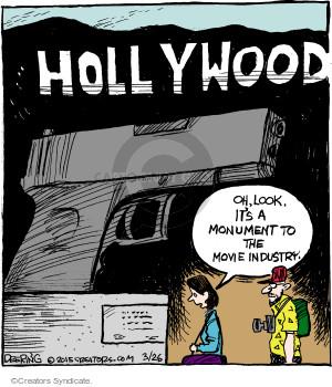 Comic Strip John Deering  Strange Brew 2015-03-26 movie violence