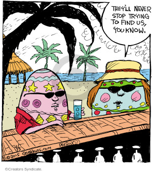 Comic Strip John Deering  Strange Brew 2015-04-03 Easter egg