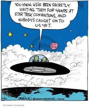 Comic Strip John Deering  Strange Brew 2015-04-10 science