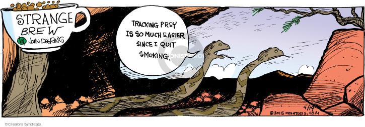 Cartoonist John Deering  Strange Brew 2015-04-19 sense