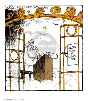 Comic Strip John Deering  Strange Brew 2015-04-14 heaven