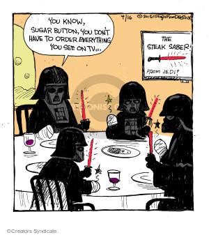 Comic Strip John Deering  Strange Brew 2015-04-16 family