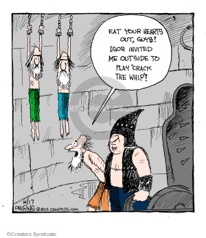 Cartoonist John Deering  Strange Brew 2015-04-17 heart