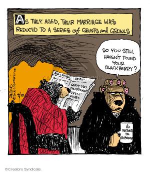 Comic Strip John Deering  Strange Brew 2015-04-18 marriage