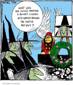 Comic Strip John Deering  Strange Brew 2015-04-29 safety