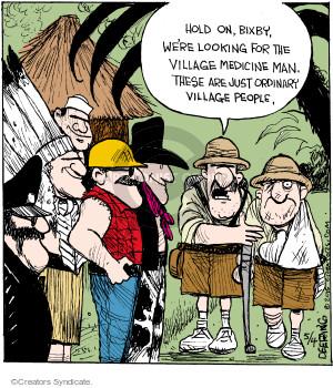 Comic Strip John Deering  Strange Brew 2015-05-04 musical