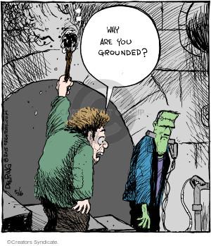 Comic Strip John Deering  Strange Brew 2015-05-06 safety