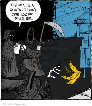 Comic Strip John Deering  Strange Brew 2015-05-07 care