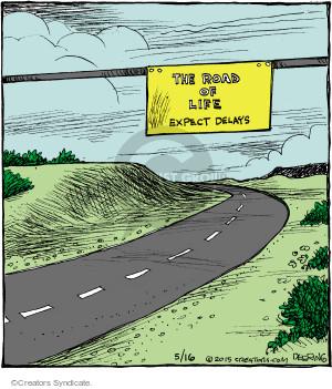Comic Strip John Deering  Strange Brew 2015-05-16 work life