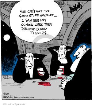 Comic Strip John Deering  Strange Brew 2015-05-20 medication