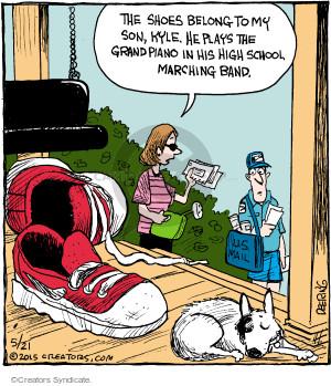 Comic Strip John Deering  Strange Brew 2015-05-21 school