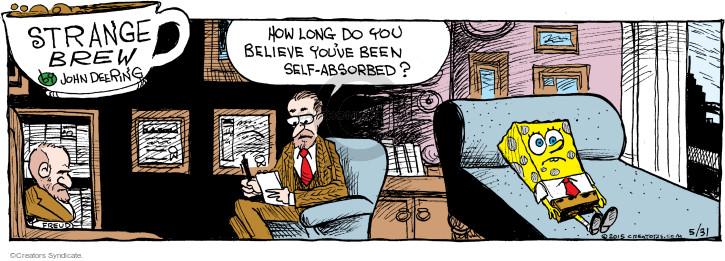 Comic Strip John Deering  Strange Brew 2015-05-31 Bob