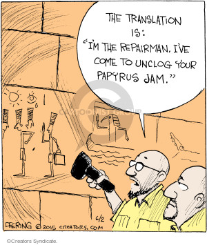 Comic Strip John Deering  Strange Brew 2015-06-02 printer