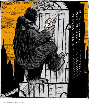 Cartoonist John Deering  Strange Brew 2015-06-19 king
