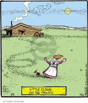 Little Clown on the Prairie.