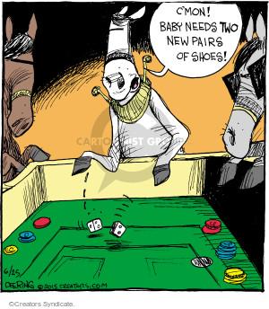 Cartoonist John Deering  Strange Brew 2015-06-25 baby