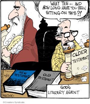 Comic Strip John Deering  Strange Brew 2015-06-27 God