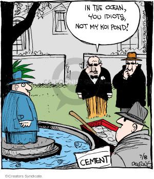 Comic Strip John Deering  Strange Brew 2015-07-08 kill