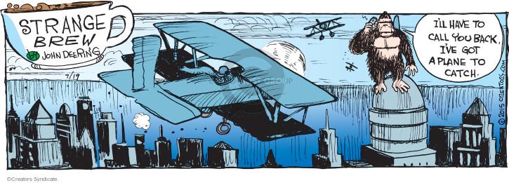 Cartoonist John Deering  Strange Brew 2015-07-19 city