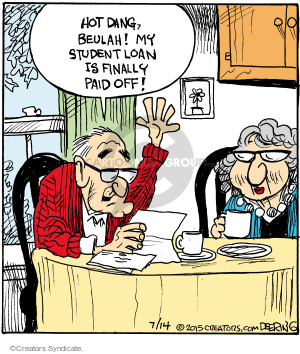 Cartoonist John Deering  Strange Brew 2015-07-14 student