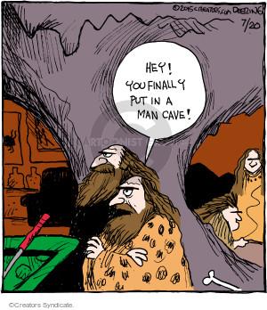 Comic Strip John Deering  Strange Brew 2015-07-20 den