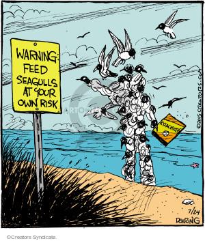 Comic Strip John Deering  Strange Brew 2015-07-24 covering