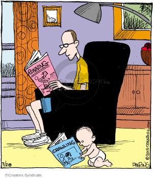 Cartoonist John Deering  Strange Brew 2015-07-28 baby