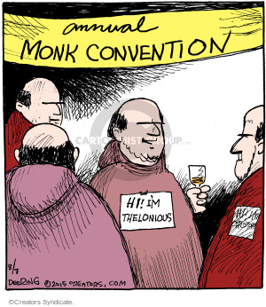 Comic Strip John Deering  Strange Brew 2015-08-07 convention