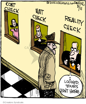 Comic Strip John Deering  Strange Brew 2015-08-11 reality