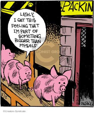 Comic Strip John Deering  Strange Brew 2015-08-12 slaughter
