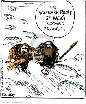 Cartoonist John Deering  Strange Brew 2015-08-13 cook