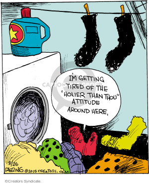 Comic Strip John Deering  Strange Brew 2015-08-26 apparel