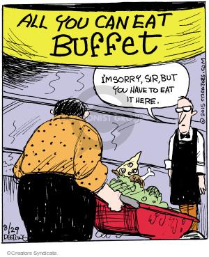 Cartoonist John Deering  Strange Brew 2015-08-29 eat