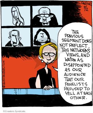 Comic Strip John Deering  Strange Brew 2015-09-02 disagree