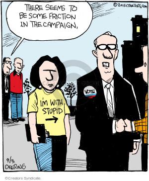 Cartoonist John Deering  Strange Brew 2015-09-03 candidate