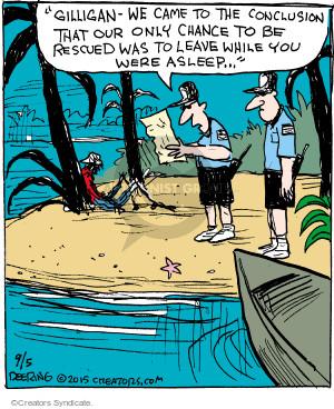 Comic Strip John Deering  Strange Brew 2015-09-05 TV series