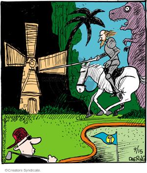 Comic Strip John Deering  Strange Brew 2015-09-15 miniature