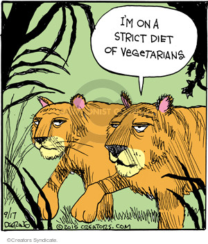 Cartoonist John Deering  Strange Brew 2015-09-17 diet