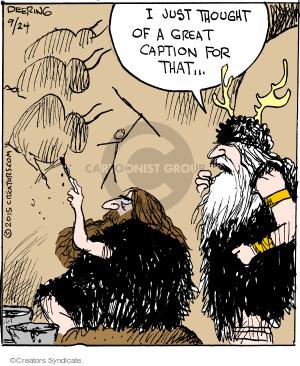 Comic Strip John Deering  Strange Brew 2015-09-24 paint