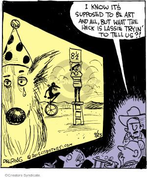 Comic Strip John Deering  Strange Brew 2015-09-25 symbol