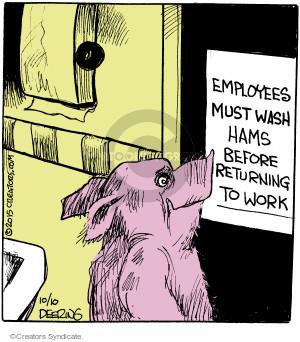 Cartoonist John Deering  Strange Brew 2015-10-10 hand