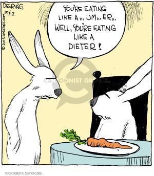 Cartoonist John Deering  Strange Brew 2015-10-12 diet