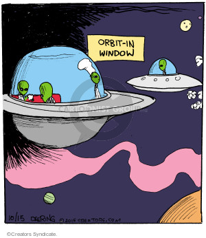Cartoonist John Deering  Strange Brew 2015-10-15 eat