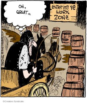 Comic Strip John Deering  Strange Brew 2015-10-20 great