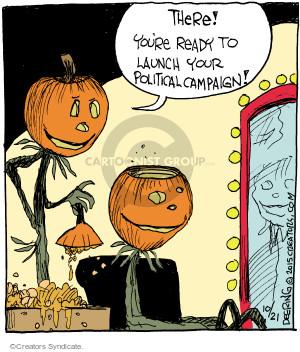 Comic Strip John Deering  Strange Brew 2015-10-21 brain
